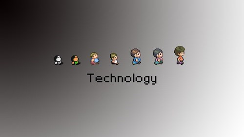 technology,that guy,gameplay,sprites,evolution