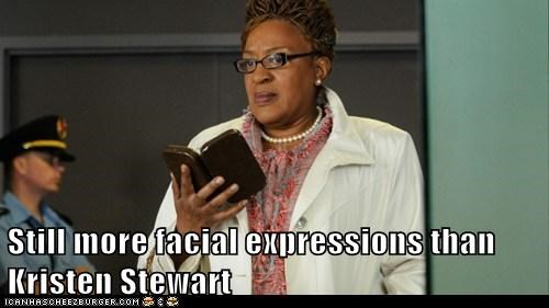 kristen stewart still more warehouse 13 facial expressions CCH Pounder mrs-frederic - 6643110400