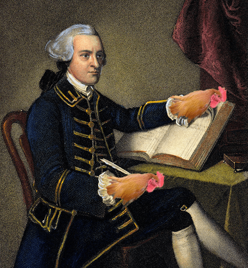 john hancock hand chicken added letter literalism - 6643129088