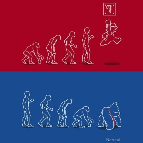 mario donkey kong evolution - 6643131136