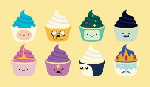 adventure time cupcakes Fan Art - 6643136000