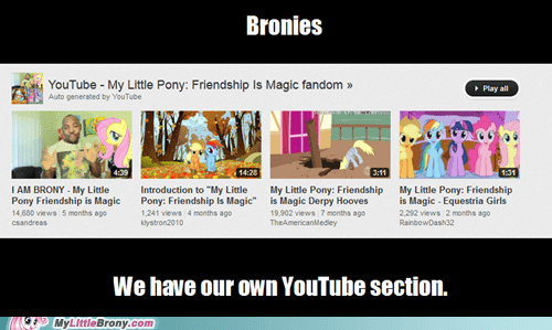 youtube Bronies fandom section - 6643198976