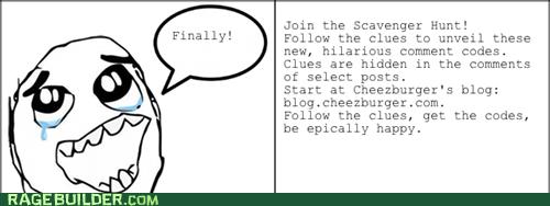 scavenger hunt - 6643219200
