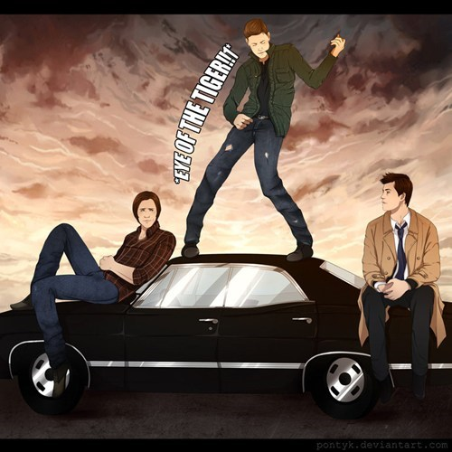 Supernatural Fan Art scifi - 6643239168