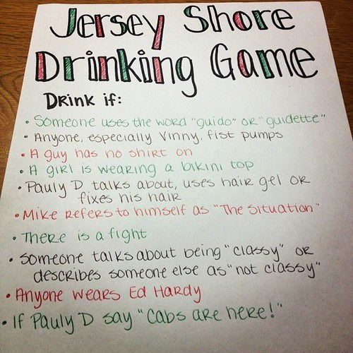 jersey shore,drinking games,mtv,alcohol poisoning,categoryimage