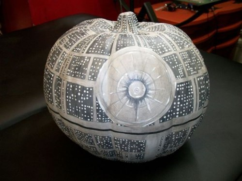 Death Star,pumpkins,carving,halloween