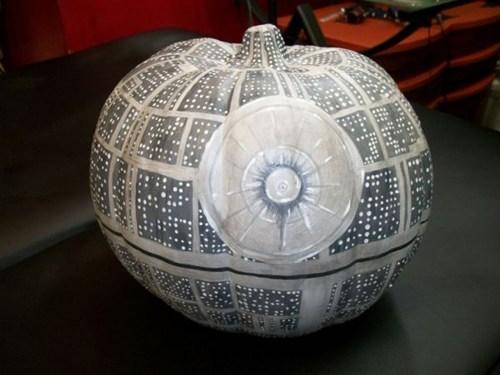 Death Star pumpkins carving halloween - 6643385088
