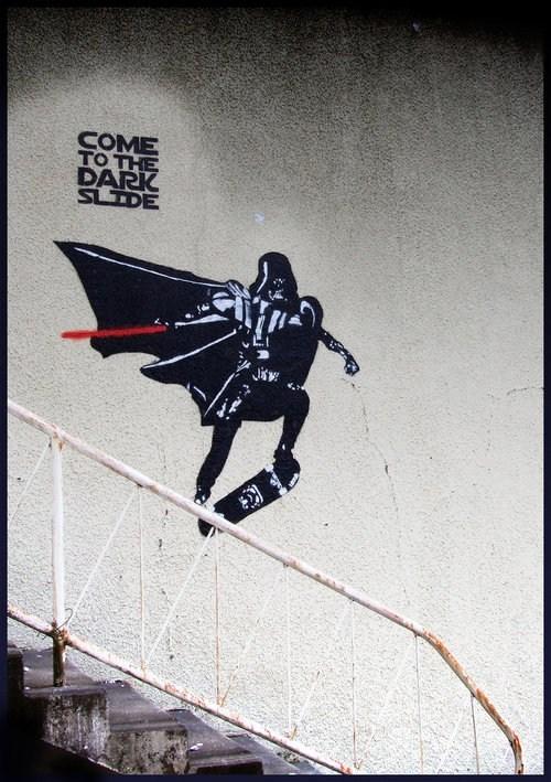 hacked irl shredding star wars skateboarding darth vader - 6643395584