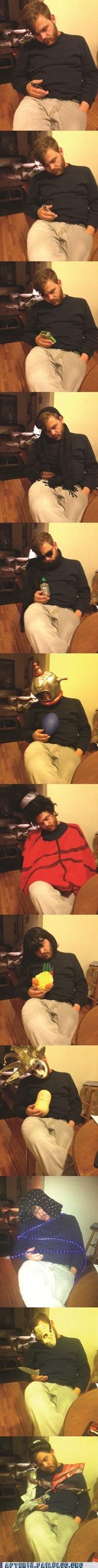 weekend at bernies passed out too drunk dressed up - 6643485952