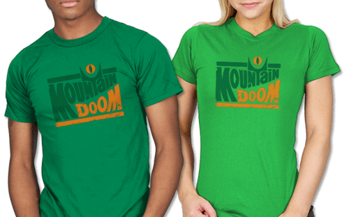 shirt mountain dew Lord of the Rings mountain doom extreme - 6643559680