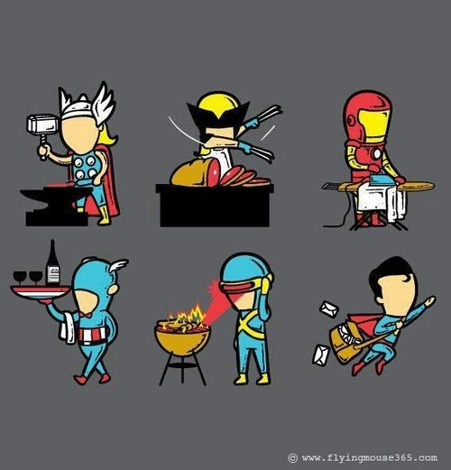 skills Thor wolverine iron man cyclops captain america superman categoryvoting-page - 6643628544