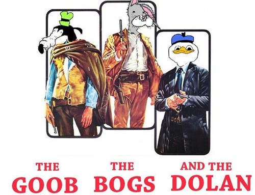 Clint Eastwood,the good the bad and the ugly,bogs,gooby