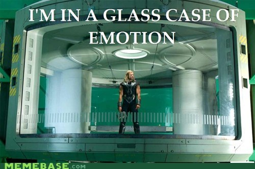 Glass Case of Emotion Thor avengers - 6643721216