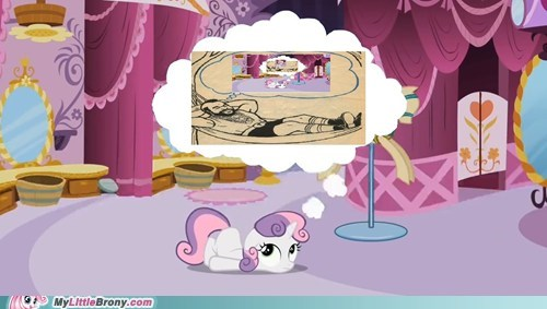 daydreaming,mr t,Sweetie Belle