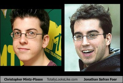 funny TLL actor celeb christopher mintz-plasse Jonathan Safran Foer - 6644284672
