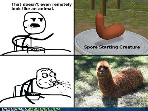 spore,alpaca,animals,creature