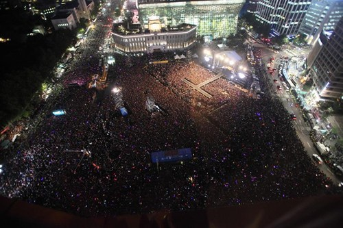 psy gangnam style free concert south korea - 6644507904