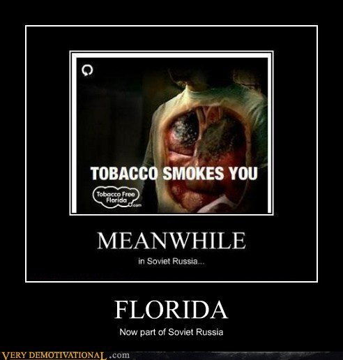 florida Soviet Russia tabacco Ad - 6644992256
