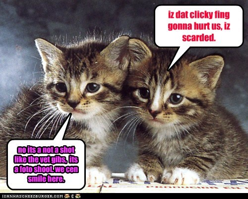 iz dat clicky fing gonna hurt us, iz scarded.