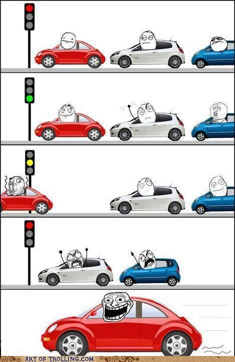 driving traffic cars stop lights - 6645741056