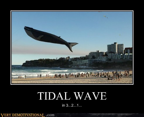 tidal wave whale - 6645852928