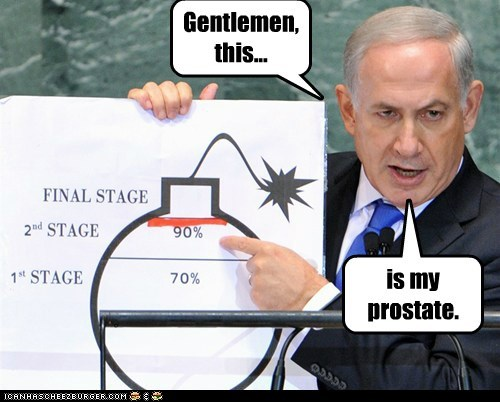 benjamin netanyahu Israel bomb prostate diagram - 6645890304