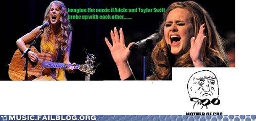 adele,taylor swift,break ups