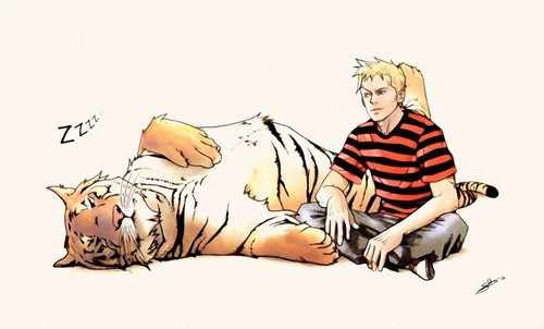 calvin and hobbes Fan Art comics - 6646378752