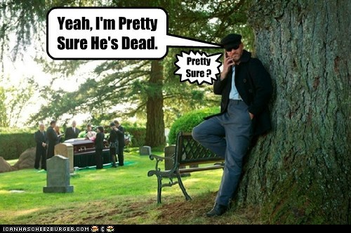 benny phone coffin Supernatural funeral dead pretty sure - 6647105024