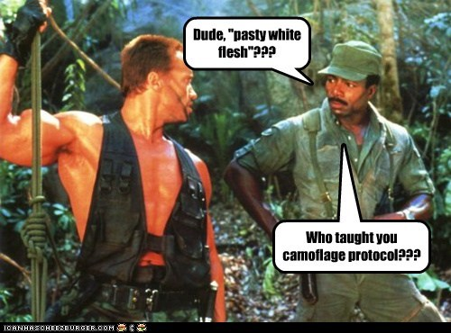 funny actor celeb Arnold Schwarzenegger Carl Weathers - 6647314688