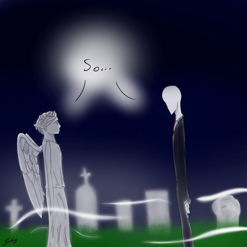 weeping angels crossover doctor who - 6647324672
