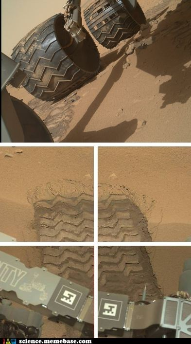 movement Mars curiosity rover - 6647392512