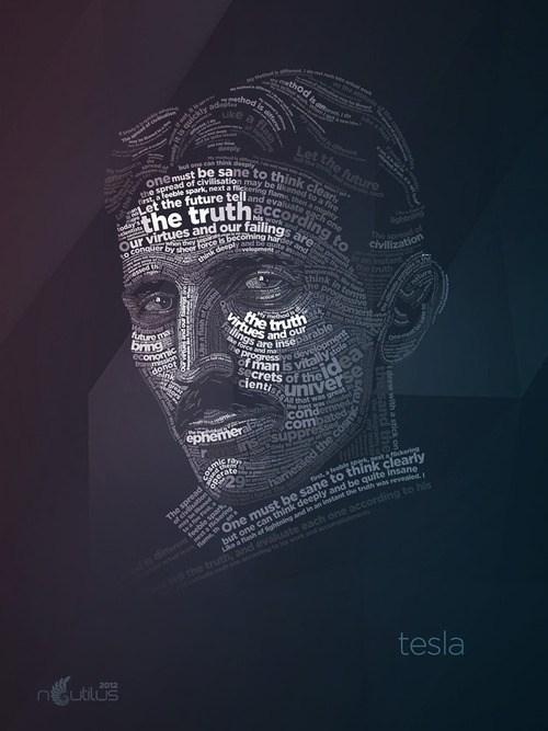 art truth word Nikola Tesla