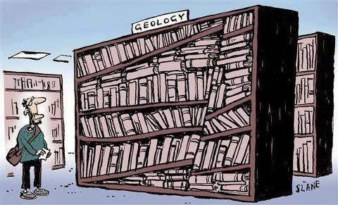 striations books comic science geology - 6647508736