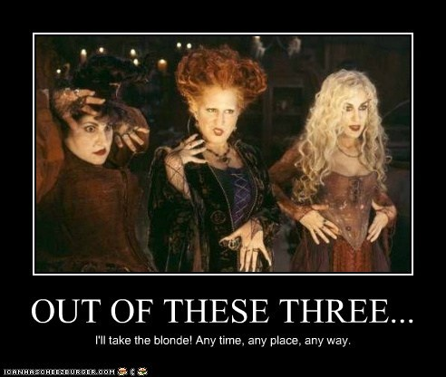 funny,actor,celeb,Bette Midler,sarah jessica parker,hocus pocus,demotivational