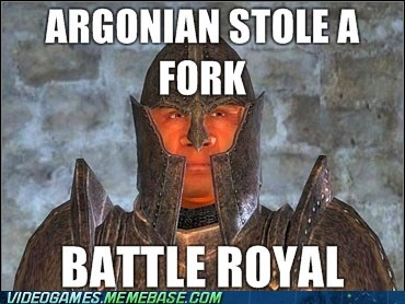 elder scrolls guard Battle