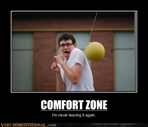 comfort zone scary tetherball - 6648093696