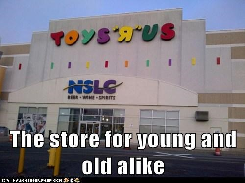 The store for young and old alike