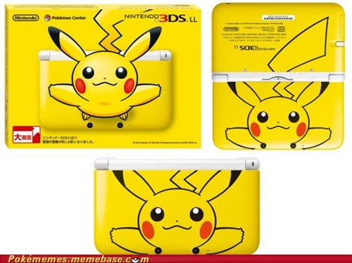 I need it now pikachu 3DS 3ds XL IRL - 6648640768
