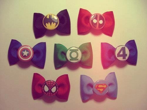 bow tie bataman deadpool captain amierca Fantastic Four Green lantern Spider-Man superman categoryvoting-page - 6648872448