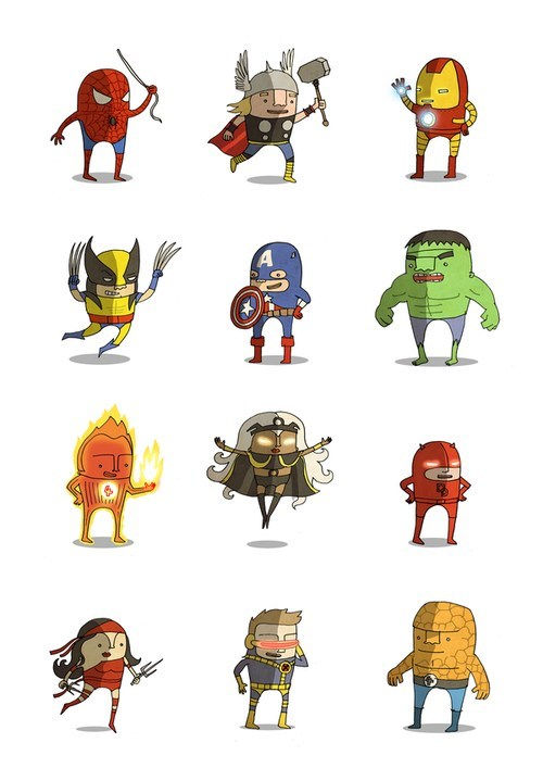marvel cute awesome art categoryvoting-page - 6648877824