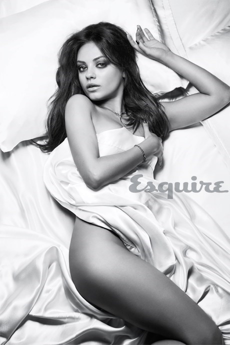 mila kunis,sexiest woman alive,esquire,bribery