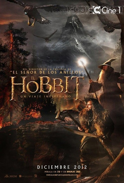 The Hobbit,peter jackson,international movie poster