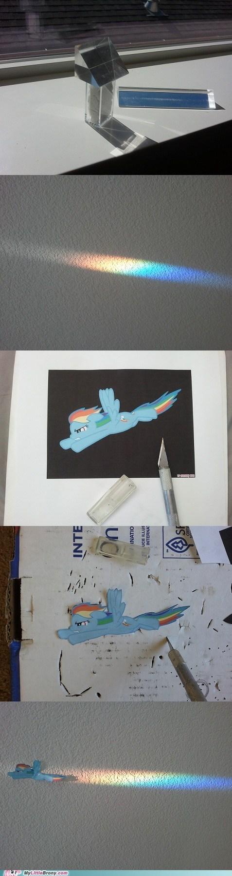 IRL rainbow rainbow dash crafts Bronies - 6649624320