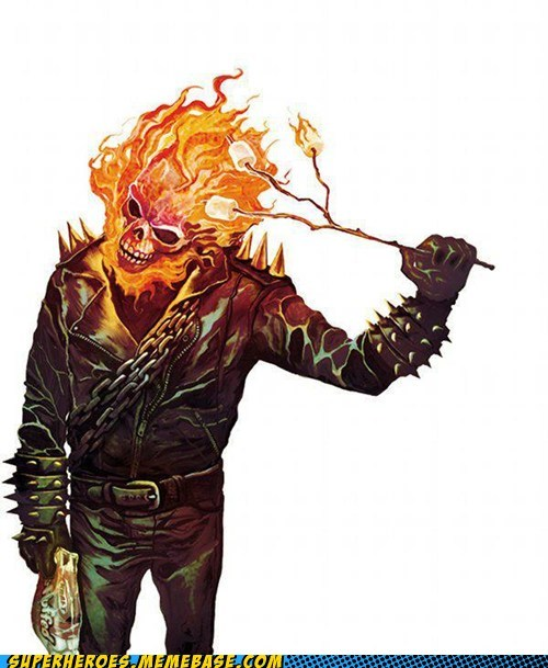 roasted marshmallows delicious ghost rider categoryvoting-page - 6649708032