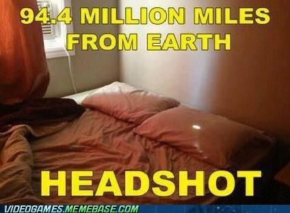 trickshot headshot sun IRL shooter - 6649737472