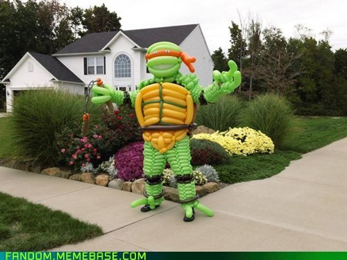 TMNT cosplay Balloons cartoons - 6649929984