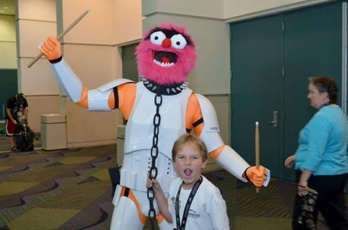stormtrooper,muppets,cosplay