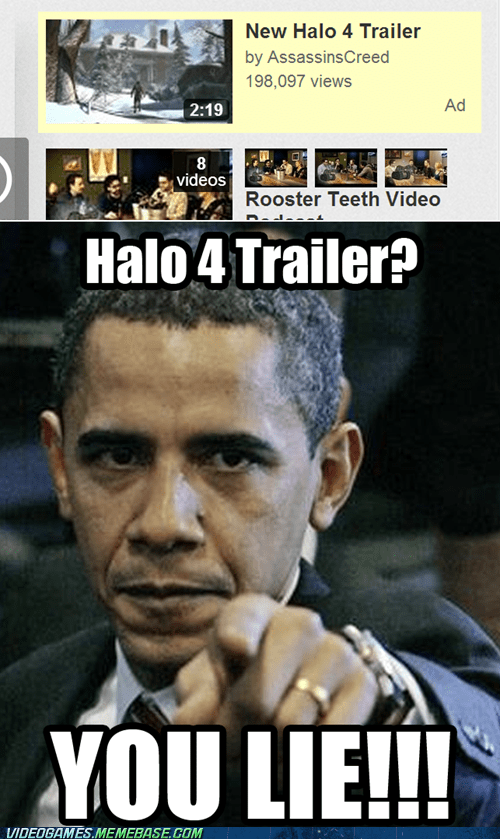 assassins creed,Halo 4,trailers,youtube