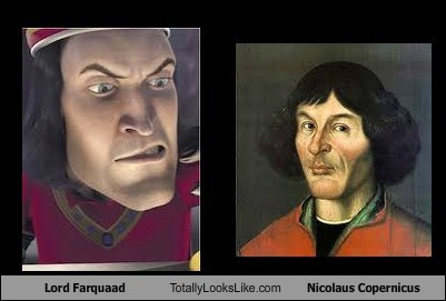 funny TLL lord farquaad shrek art nicolaus copernicus - 6650453504